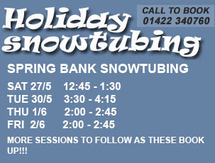 Snowtubing Holiday Sessions