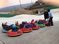 Snowtubing for children