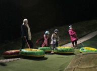 Snowtubing Family Fun